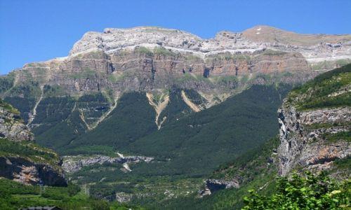 HISZPANIA / Pireneje hiszpańskie / okolice Torli / P.N. Ordesa y Monte Perdido