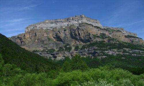 Zdjecie HISZPANIA / Pireneje hiszpańskie / okolice Torli / P.N. Ordesa y Monte Perdido