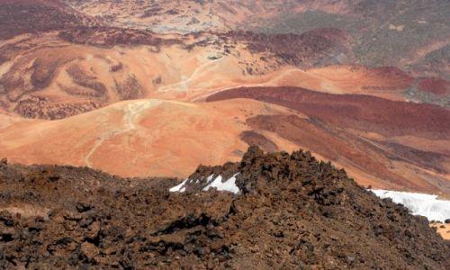 Zdjecie HISZPANIA / Teneryfa / Park Narodowy El Teide / Kaldera El Teide 1