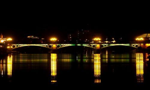 Zdj�cie HISZPANIA / andaluzja / Sevilla / Sevilla by night