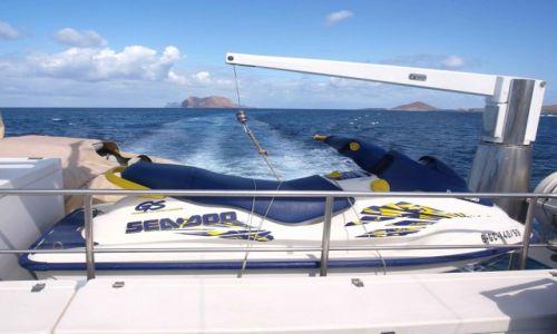 Zdjecie HISZPANIA / Wyspy Kanaryjskie / Archipelag Chinijo / łódka