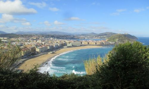 Zdjecie HISZPANIA / Kraj Baskow / San Sebastian (Donostia) / Camino del Norte