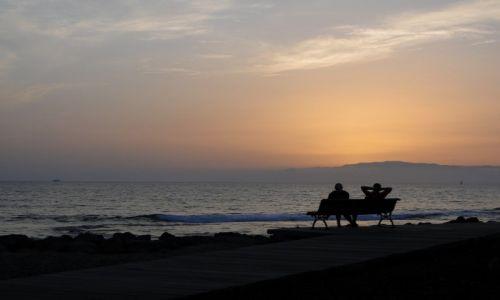 HISZPANIA / Teneryfa / Teneryfa / Upojny wieczór nad oceanem...