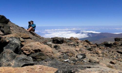 HISZPANIA / Teneryfa / Szczyt El Teide / Fotografowanie na wulkanie.