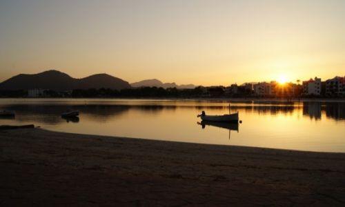 Zdjęcie HISZPANIA / Majorka / Port de Alcudia / golden hour
