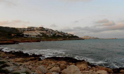 Zdjecie HISZPANIA / Costa del Azahar (wybrzeże kwiatu pomarańczy) / Peniscola  / wybrzeże