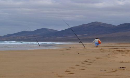 Zdjecie HISZPANIA / Fuerteventura / Fuerteventura / Beach walk