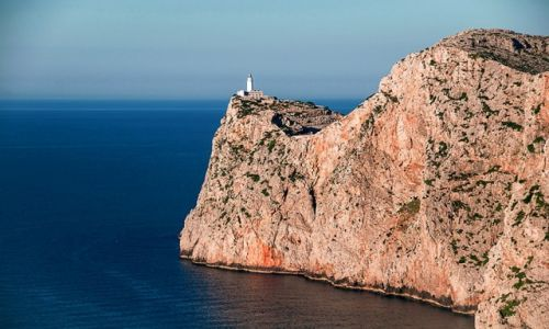 Zdjęcie HISZPANIA / - / Majorka / latarnia na Cap de Formentor
