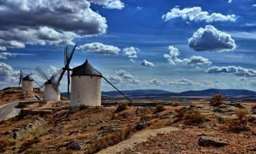 Zdjecie HISZPANIA / Castilla La Mancha / Consuegra / Śladami Don Kichota