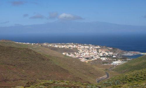 Zdjęcie HISZPANIA / gomera / panorama / San Sebastian