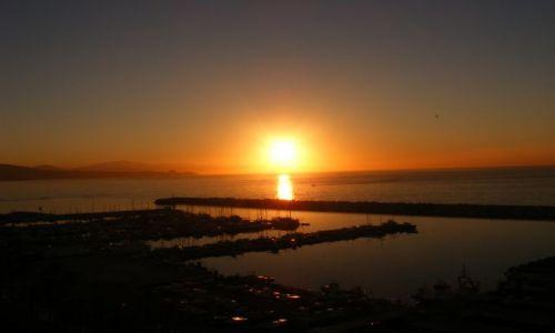 Zdjęcie HISZPANIA / Andaluzja-Costa del Sol / Fuengirola / Zachód słońca - port