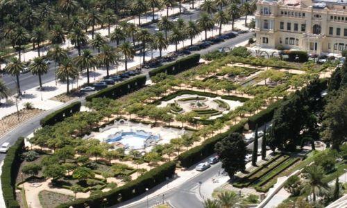 Zdjęcie HISZPANIA / Andaluzja-Costa del Sol / Malaga / Ogród pałacowy