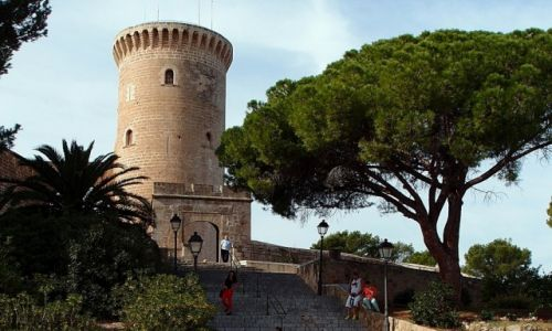 Zdjęcie HISZPANIA / Majorka / Palma de Mallorca / Twierdza Castell de Belver