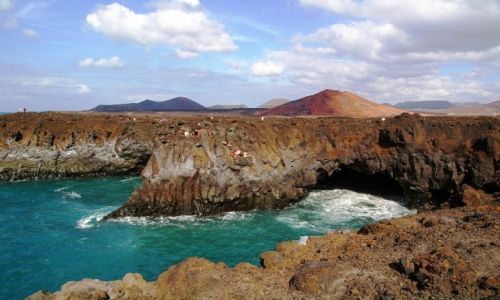 Zdjecie HISZPANIA / Wyspy Kanaryjskie / Lanzarote / Los Hervideros
