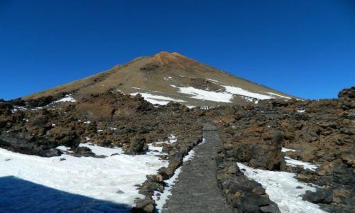 Zdjęcie HISZPANIA / teneryfa / wulkan teide  / wierzchołek teide