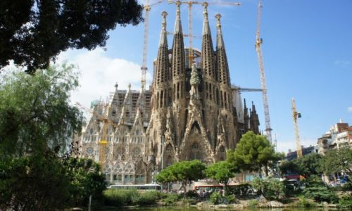 Zdjęcie HISZPANIA / Katalonia / Barcelona / Sagrada Familia