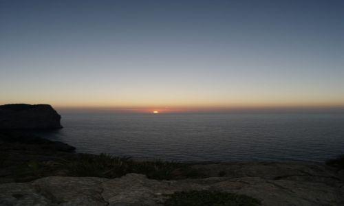 Zdjecie HISZPANIA / Mallorca / Lighthouse of Cap De Formentor / Gasnące zachód