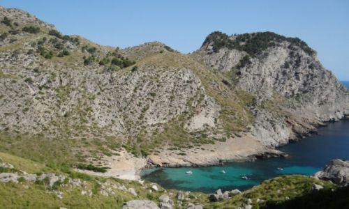 Zdjęcie HISZPANIA / Majorka / Formentor / zatoczka