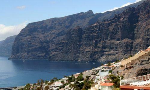 Zdjęcie HISZPANIA / Teneryfa / Los Gigantes / Kanaryjskie klify