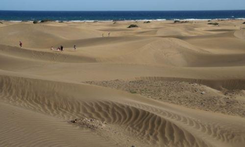 Zdjęcie HISZPANIA / Gran Canaria / Maspalomas / Kanaryjska pustynia