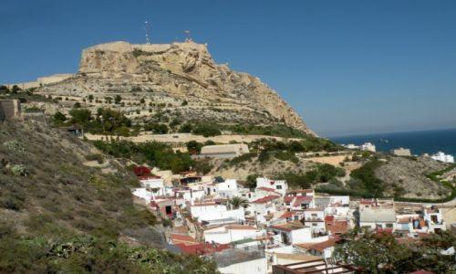Zdjęcie HISZPANIA / Walencja / Alicante / Zamek św. Barbary