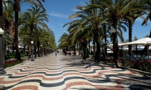Zdjęcie HISZPANIA / Walencja / Alicante / Deptak