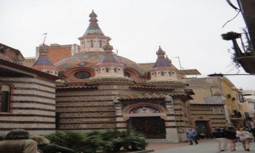 Zdjecie HISZPANIA / Costa Brava / Lloret de Mar / kościół Santa Roma