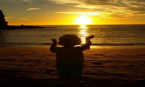 Zdjecie HISZPANIA / Lanzarote / 1 / zachód słońca