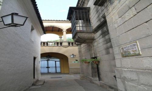 Zdjecie HISZPANIA / KATALONIA / BARCELONA  / POBLE ESPANYOL