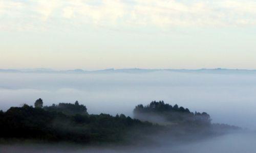 Zdjęcie HISZPANIA / Galicja / W drodze do Santiago / Wyspa na oceanie mgieł