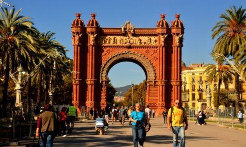Zdjęcie HISZPANIA / Hiszpania / Barcelona / Łuk triumfalny