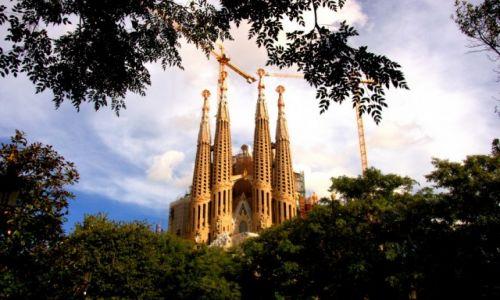 Zdjęcie HISZPANIA / Hiszpania / Barcelona / Sagrada Familia