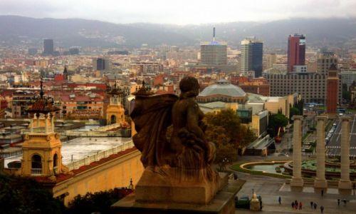 Zdjęcie HISZPANIA / Hiszpania / Barcelona / Wzgórza montjuic