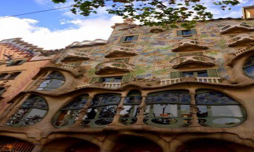 Zdjęcie HISZPANIA / Hiszpania / Barcelona / casa batllo