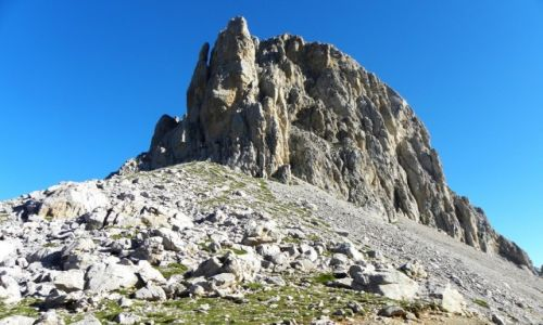 Zdjęcie HISZPANIA / Picos de Europa / Aliva / ściana