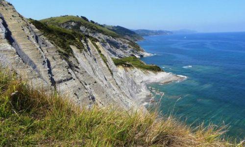 Zdjęcie HISZPANIA / Kraj Basków / Zumaia / flisz