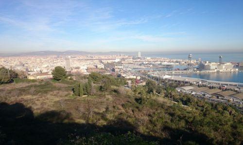 Zdjecie HISZPANIA / Katalonia / Barcelona / Barcelona- panorama- miasto i port