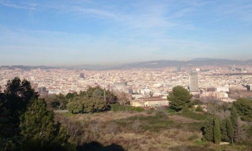 Zdjecie HISZPANIA / Katalonia / Barcelona / Barcelona- panorama miasta