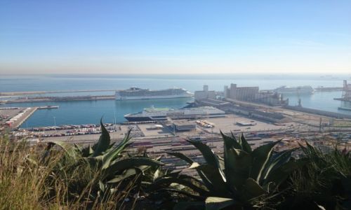 Zdjecie HISZPANIA / Katalonia / Barcelona / Barcelona- port