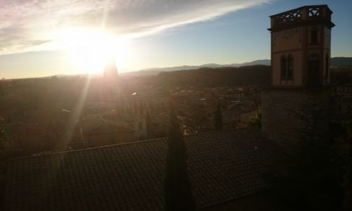 Zdjecie HISZPANIA / Katalonia / Girona / Girona- panorama