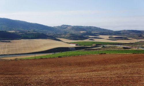 Zdjęcie HISZPANIA / La Rioja  / Camino de Santiago / Wśród pól i ścieżek