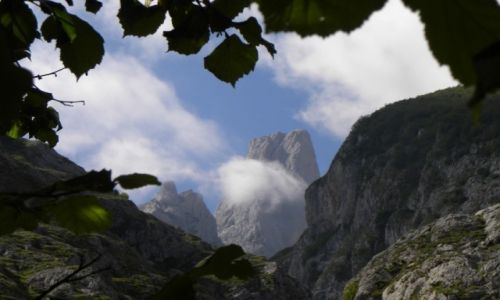 Zdjęcie HISZPANIA / Picos de Europa / Picu Urriellu (Naranjo de Bulnes) / tajemnicza góra