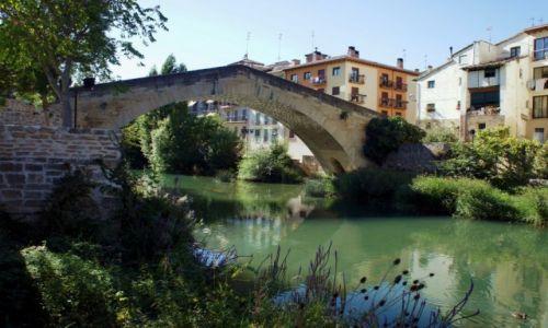 Zdjęcie HISZPANIA / Navarra  / Sansol / Most