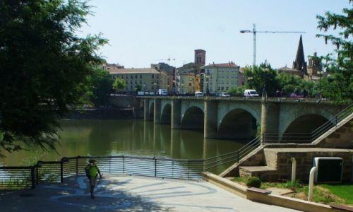 Zdjęcie HISZPANIA / La Rioja / Navarreta / Nad rzeką Ebro