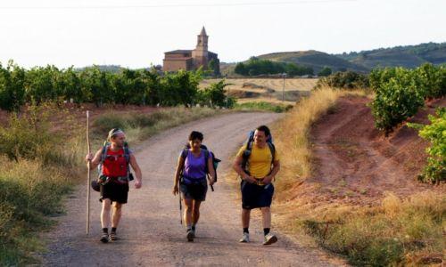 Zdjęcie HISZPANIA / La Rioja / Navarrete / W drogę