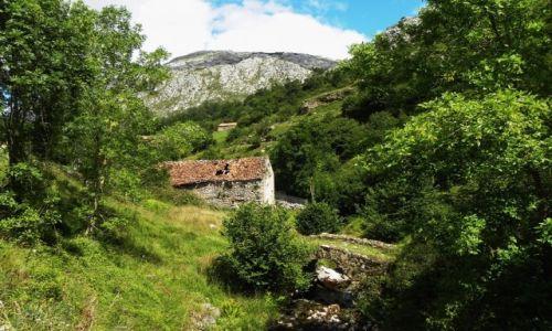 Zdjęcie HISZPANIA / Picos de Europa / Sotres / mostek