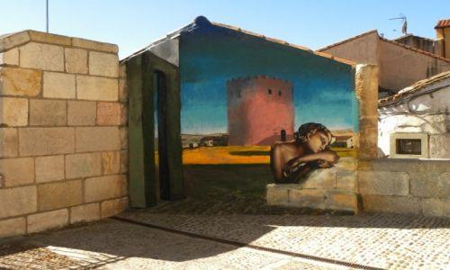 Zdjęcie HISZPANIA / Kastylia-Leon / Zamora / mural