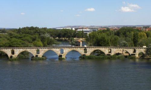 Zdjęcie HISZPANIA / Kastylia-Leon / Zamora / rzeka Duero