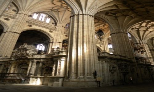 HISZPANIA / Kastylia-Leon / Salamanca / katedra