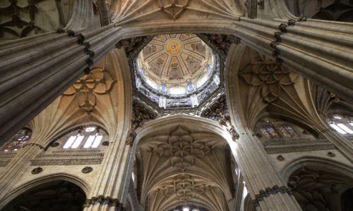 HISZPANIA / Kastylia-Leon / Salamanca / katedra 2